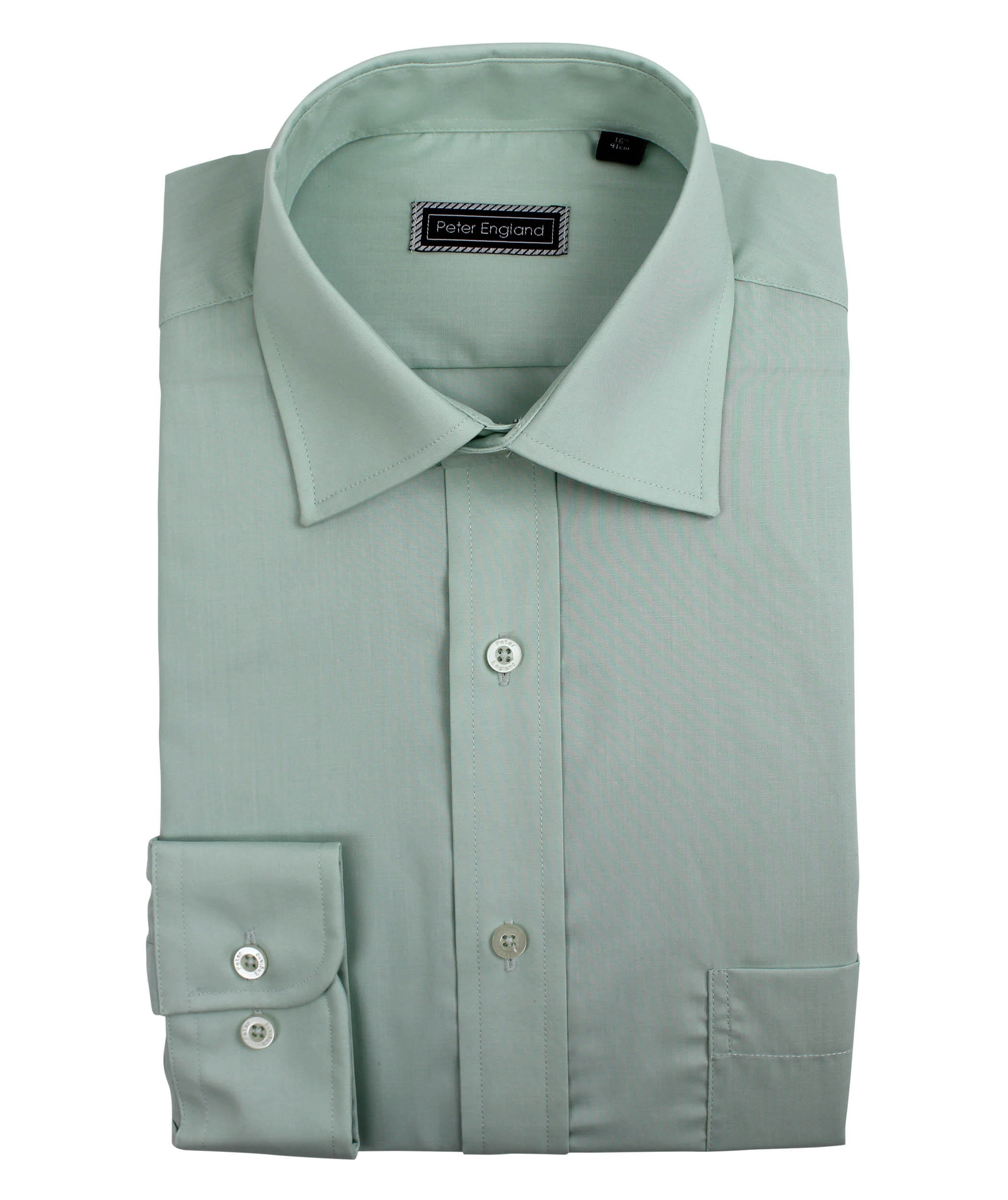 Peter-England-Mens-Plain-Shirt